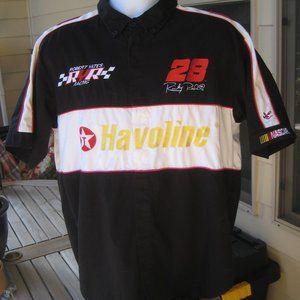 Vint. NASCAR Robert Yates Racing Shirt Ricky Rudd